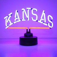 University of Kansas Neon Lamp