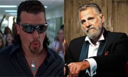 kenny powers meets most interesting man in the world